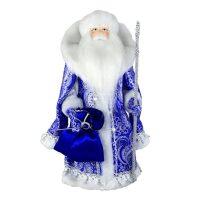 """Кукла """"Дед Мороз в синем"""""""