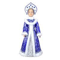 """Кукла """"Снегурочка в синем"""" конфетница"""