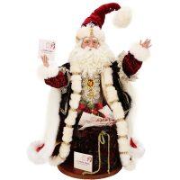 """Кукла под елку  MarkRoberts """"Волшебник Новогодей почты"""""""