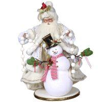 """Кукла под елку  MarkRoberts """"Волшебник и снеговик"""""""