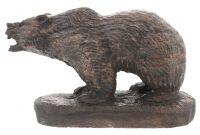 """Скульптура из камня """"Медведь"""" (кальцит)"""