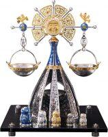 """Сувенир из серебра - знак зодиака """"Весы"""""""