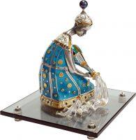 """Сувенир из серебра - знак зодиака """"Водолей"""""""