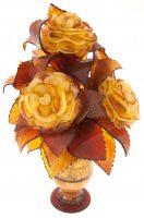 """Букет из янтаря """"3 розы"""""""