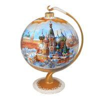 """Ёлочный шар на подставке """"Кремль"""""""