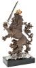 """Авторская скульптура из бронзы  Братья Озюменко """"Король Лев"""" - 2"""