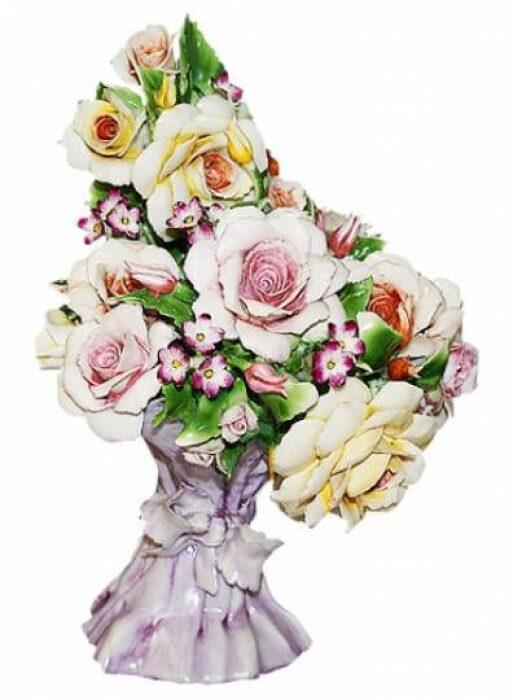 "Декоративный букет  Artigiano Capodimonte ""Цветы"" - 0"