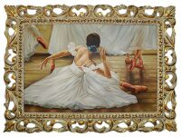 """Картина  Bertozzi Cornici """"Балерина-лебедь"""""""