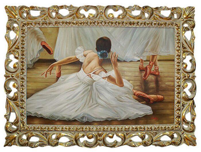 """Картина  Bertozzi Cornici """"Балерина-лебедь"""" - 0"""