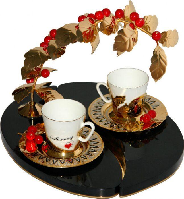 """Кофейный набор """"Кофе для любимого"""" на 2 персоны- 0"""