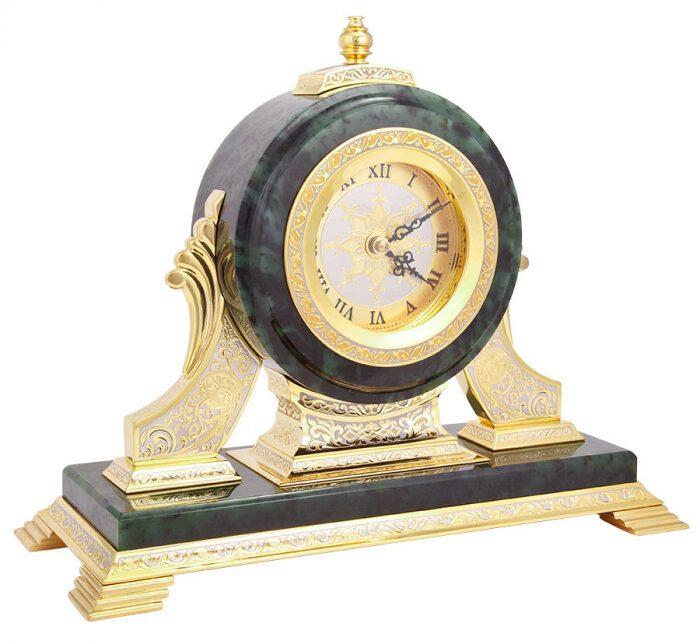 Часы каминные (нефрит)- 1
