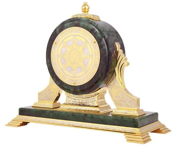 Часы каминные (нефрит)- 2