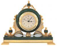 Каминные часы из нефрита