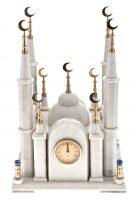 """Часы каминные из мрамора """"Мечеть"""""""