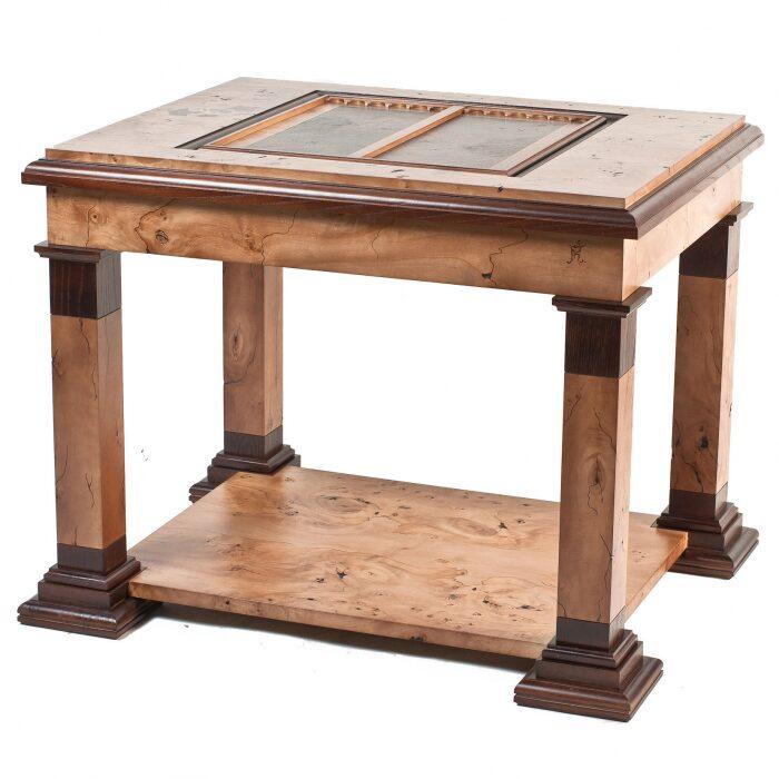 """Стол для игры в шахматы и нарды """"Илиада""""- 1"""