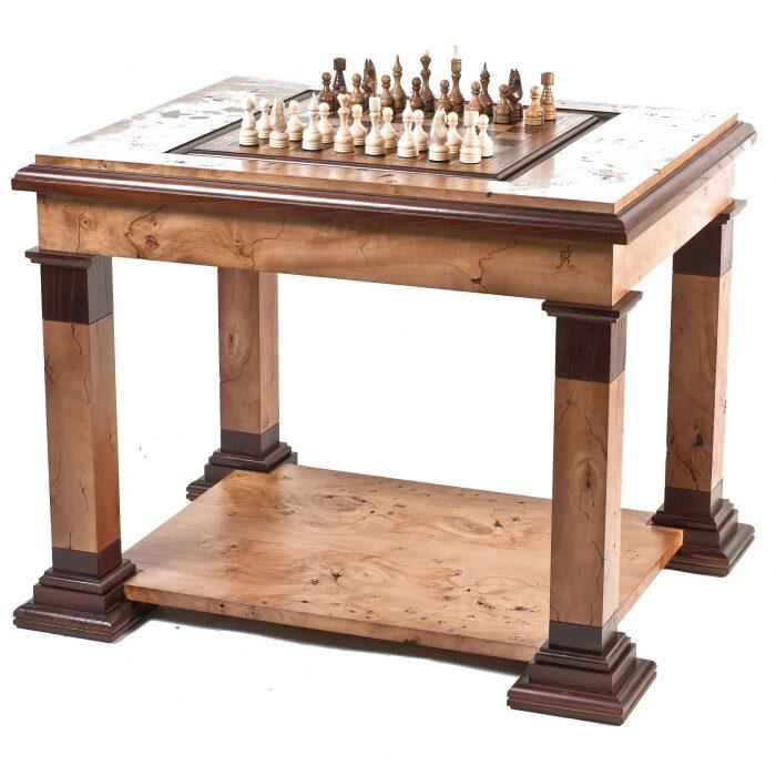 """Стол для игры в шахматы и нарды """"Илиада""""- 0"""