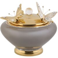 "Шкатулка  Ceramiche Stella ""Бабочки"""