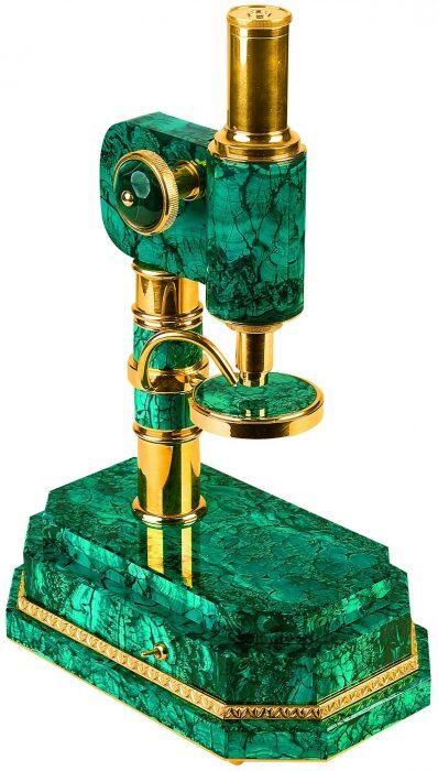 Микроскоп малахитовый- 0