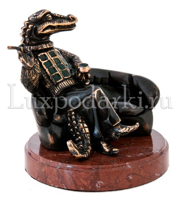 "Скульптура бронзовая ""Олигарх""- 4"