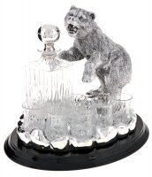 "Набор для водки  Chinelli ""Медведь"""