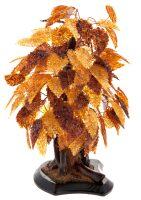 "Сувенир из янтаря ""Осеннее дерево"""