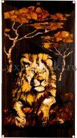 Нарды из янтаря «Лев»