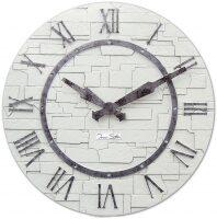 """Настенные часы  Tomas Stern """"White wall"""""""