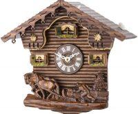 "Настенные часы  Tomas Stern ""Wagen Holz"""