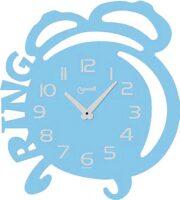 """Настенные часы  Lowell """"Ring""""  голубой"""
