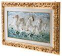 """Барельеф  Porcellane Principe """"Бегущие кони"""" - 1"""