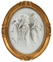 "Барельеф  Porcellane Principe ""Три грации"""