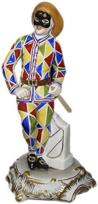 """Скульптура  Elite & Fabris """"Арлекин""""  разноцветная- 0"""