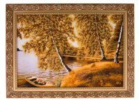 "Картина из янтаря ""Тихая гавань"""