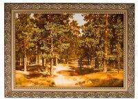 """Картина из янтаря """"Сосновый бор"""""""