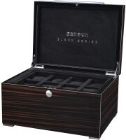 Шкатулка для 16 часов Black Series Watch case Macassar Benson