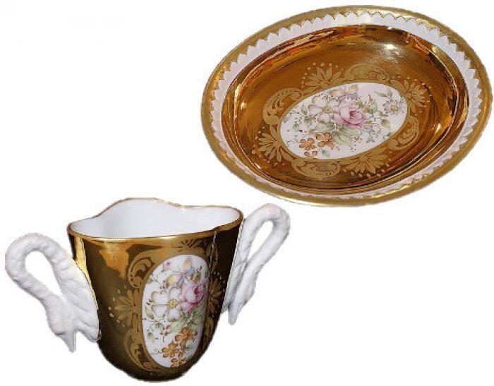"""Чайный набор  Tiche """"Рукет с розой"""" - 0"""