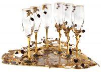 """Набор для шампанского """"Малина"""""""