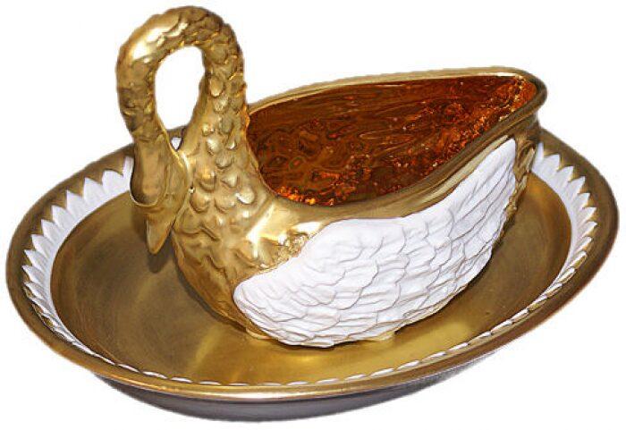 """Чайный набор  Tiche """"Лебедь"""" - 0"""
