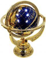 Глобус сувенирный (фианиты и шпинель)