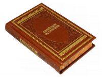 """Книга в кожаном переплете """"Еврейское остроумие"""""""