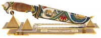 """Композиция с ножом """"Египетские пирамиды"""" (Златоуст)"""