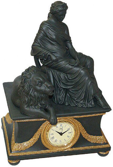 """Часы  Cattin """"Дама и лев"""" , цвет: черный- 0"""
