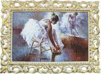"Картина  Bertozzi Cornici ""Балерина на стуле у зеркала"""
