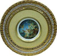 Декоративная тарелка в рамке из дерева Bertozzi Cornici