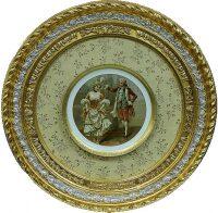 Декоративная тарелка в деревянной рамке Bertozzi Cornici