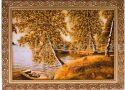 "Картина из янтаря ""Тихая гавань""- 0"