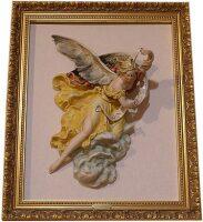 """Барельеф  Porcellane Principe """"Рождественский ангел"""""""