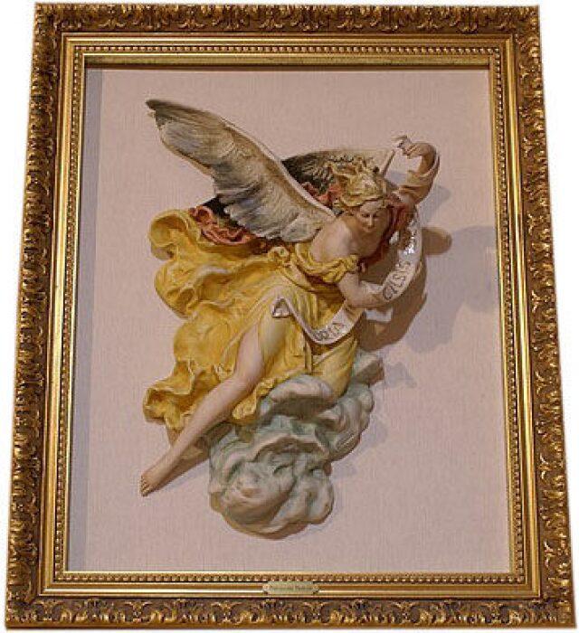 """Барельеф  Porcellane Principe """"Рождественский ангел"""" - 0"""
