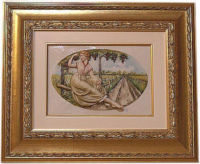 """Барельеф  Porcellane Principe """"Осень"""" - 0"""