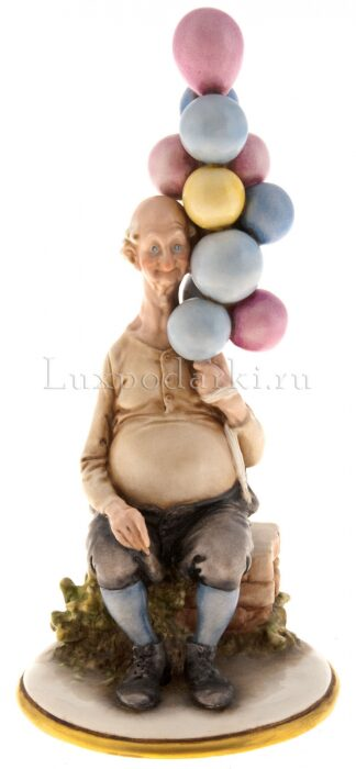 """Статуэтка  Elite & Fabris """"Продавец воздушных шаров""""- 0"""